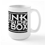 Think Outside Box Large 15oz Mug