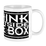 Think Outside Box Small 11oz Mug
