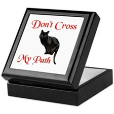 BLACK CAT Keepsake Box