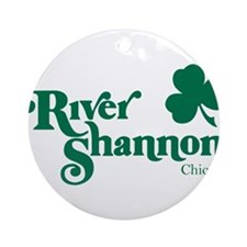 The River Shannon Ornament (Round)