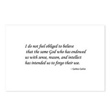 Galileo on God & Reason Postcards (Package of 8)