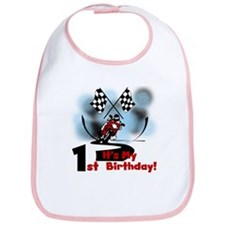 Motorcycle Racing 1st Birthday Bib