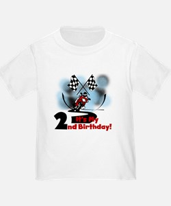 Motorcycle Racing 2nd Birthday T