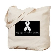 Wipe Out Crohns Tote Bag