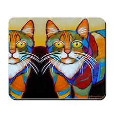 Cat-of-Many-Colors Mousepad