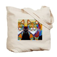 Cat-of-Many-Colors Tote Bag