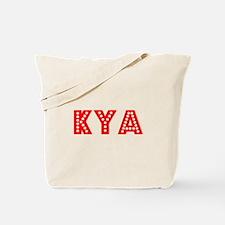 Retro Kya (Red) Tote Bag