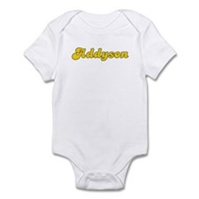 Retro Addyson (Gold) Infant Bodysuit