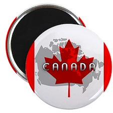 "Canada Flag 2.25"" Magnet (10 pack)"