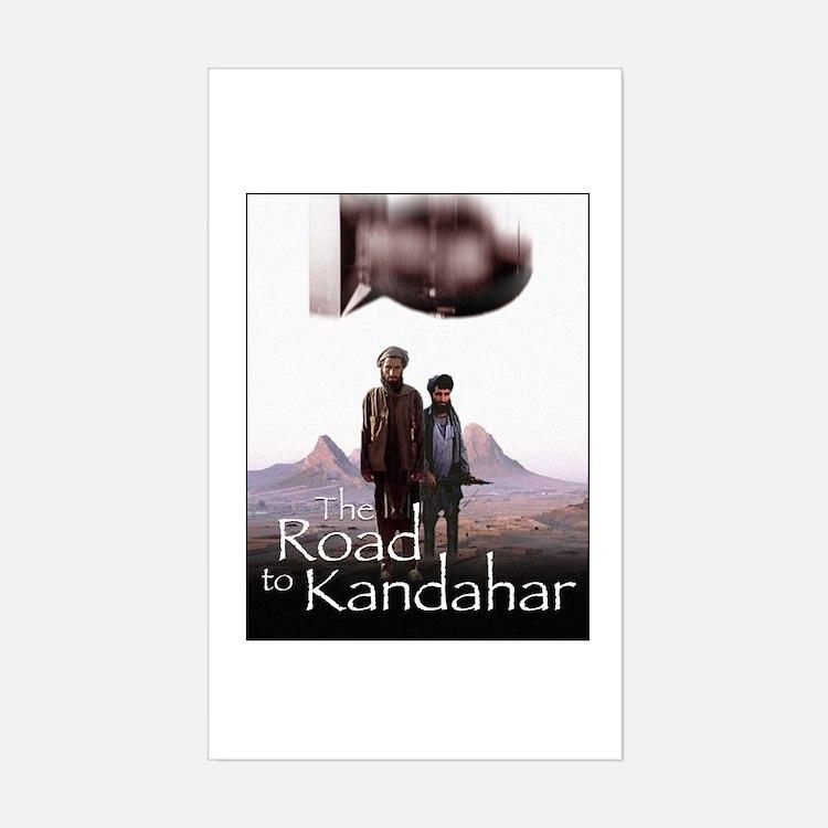 Road to Kandahar Rectangle Decal