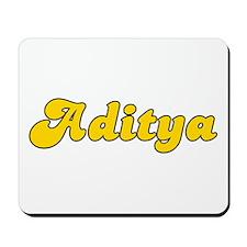Retro Aditya (Gold) Mousepad