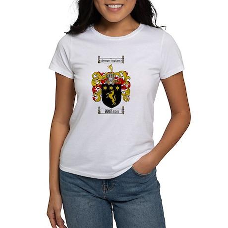 Wilson Family Crest Women's T-Shirt