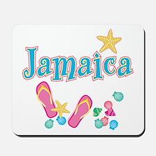 Jamaica Flip Flops - Mousepad