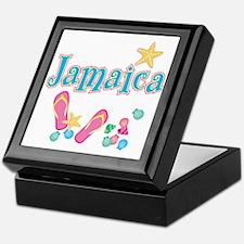 Jamaica Flip Flops - Keepsake Box