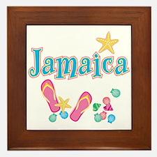 Jamaica Flip Flops - Framed Tile