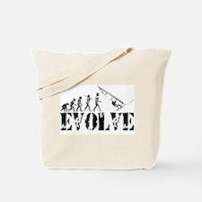 Windsurfing Evolution Tote Bag