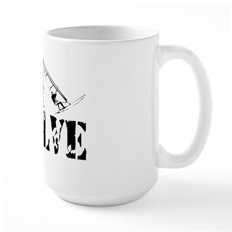 Windsurfing Evolution Large Mug