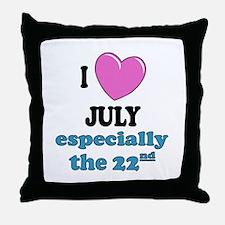 PH 7/22 Throw Pillow
