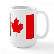 Canadian Flag Ceramic Mugs