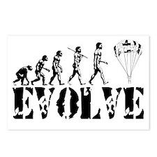 Skydiving Evolution Postcards (Package of 8)