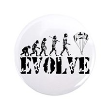 """Skydiving Evolution 3.5"""" Button"""