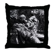 Vietnam Womens Memorial Throw Pillow