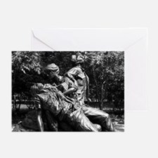 Vietnam Womens Memorial Greeting Cards (Package o