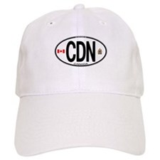 Canada Country Code Oval Hat