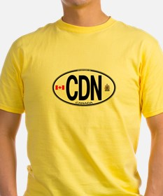 Canada Country Code Oval T