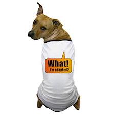 Cool Adopt a greyhound Dog T-Shirt