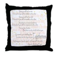 Apache Wedding Prayer Pillow