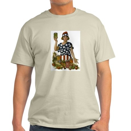 Victory Garden Ash Grey T-Shirt
