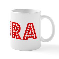Retro Laura (Red) Mug