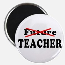 "Future Teacher No More 2.25"" Magnet (10 pack)"