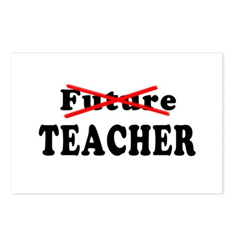 Future Teacher No More Postcards (Package of 8)