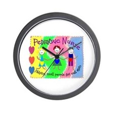 PEDS Nurse Wall Clock