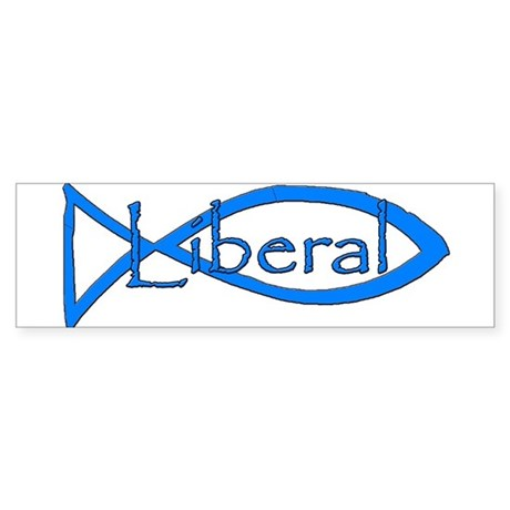 Liberal Christian Sticker (Bumper)
