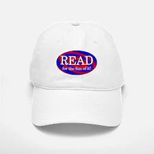 Read for Fun Baseball Baseball Cap