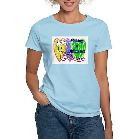 PEDS Nurse Women's Light T-Shirt