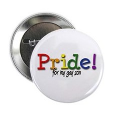 "Pride Gay Son 2.25"" Button"