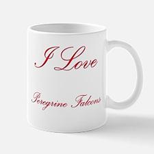I Love Peregrine Falcons Mug