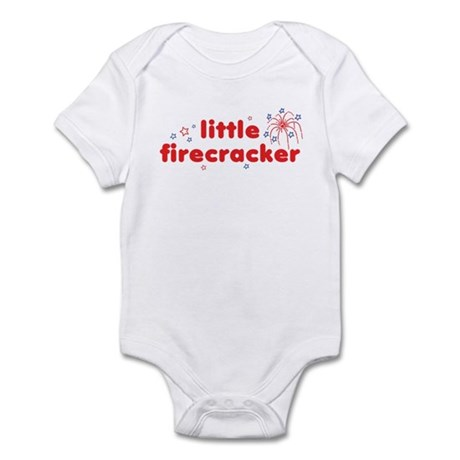 little firecracker Infant Bodysuit