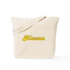 Retro Aleena (Gold) Tote Bag
