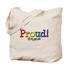 Proud Gay Son Tote Bag