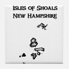 Isles of Shoals NH Tile Coaster