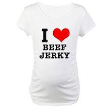 I Heart (Love) Beef Jerky Shirt