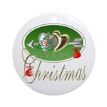 I Love Christmas Keepsake (Round)