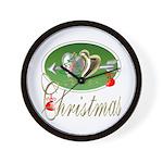I Love Christmas Wall Clock