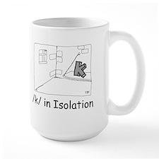K in isolation Mug