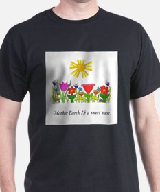 Mother Earth Flowers T-Shirt